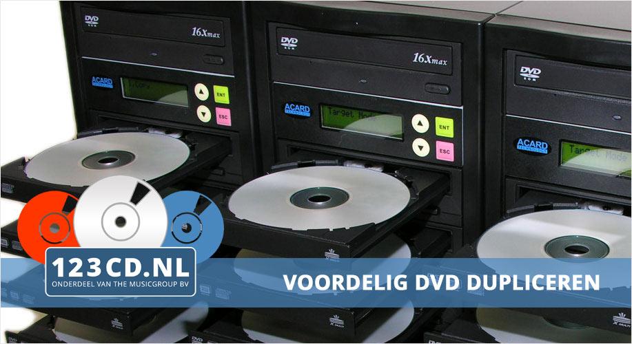 dvd dupliceren